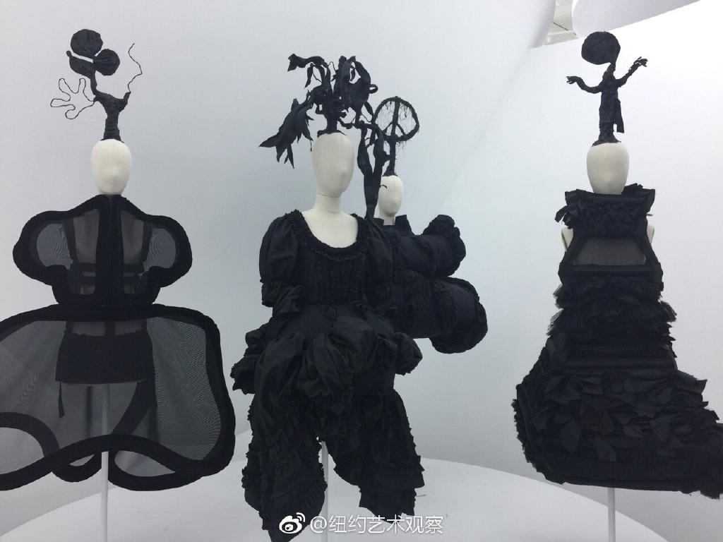 纽约大都会博物馆川久保玲服装大展_图1-8