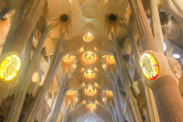 巴塞罗那圣家大教堂_图1-31