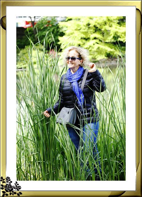 中央公园初夏,树木茂盛,花卉盛开,风景优美,游客兴旺! ..._图1-7