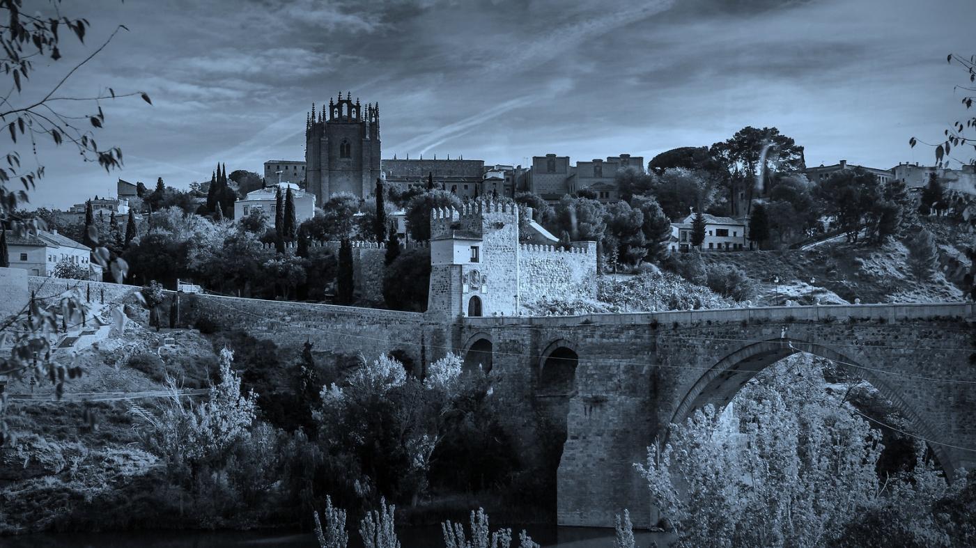 西班牙托莱多,走石桥看古城_图1-6
