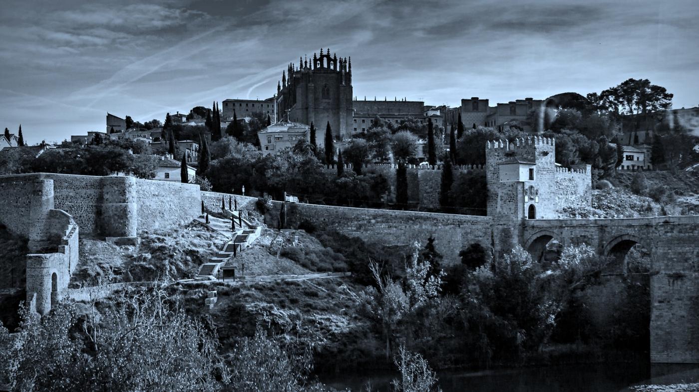 西班牙托莱多,走石桥看古城_图1-5
