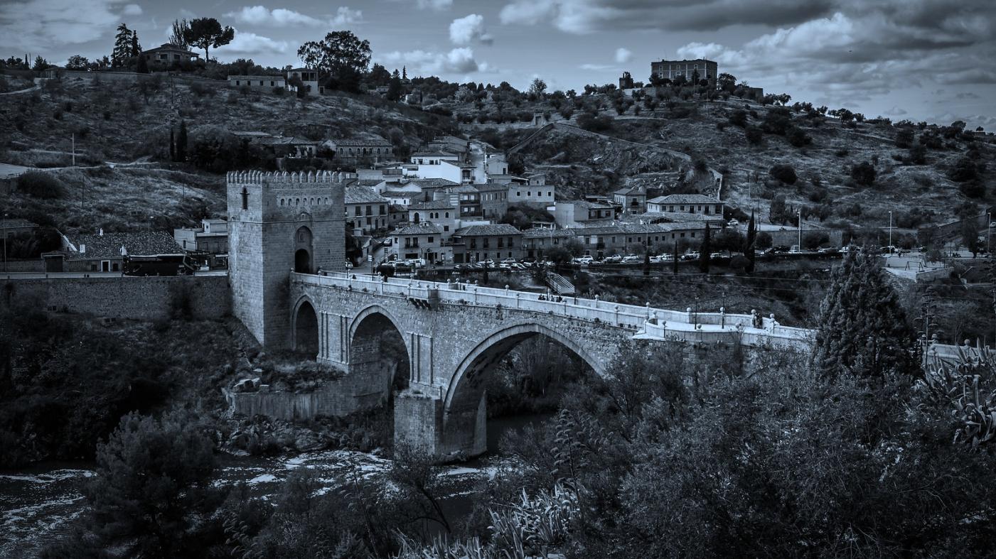 西班牙托莱多,走石桥看古城_图1-3