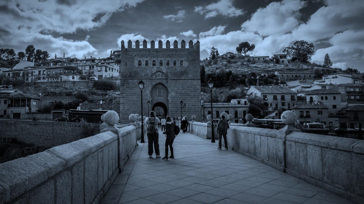 西班牙托莱多,走石桥看古城_图1-2