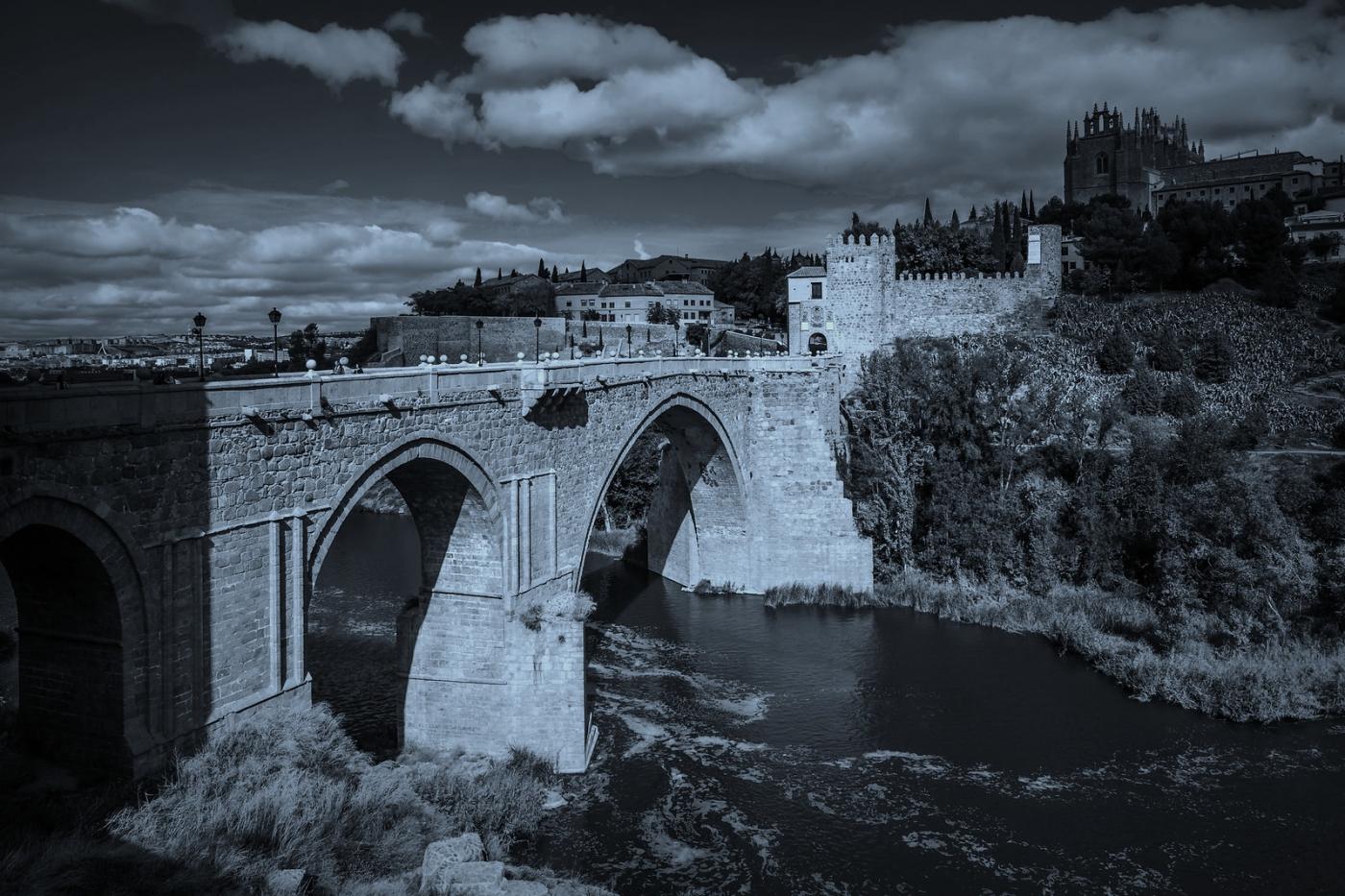 西班牙托莱多,走石桥看古城_图1-1