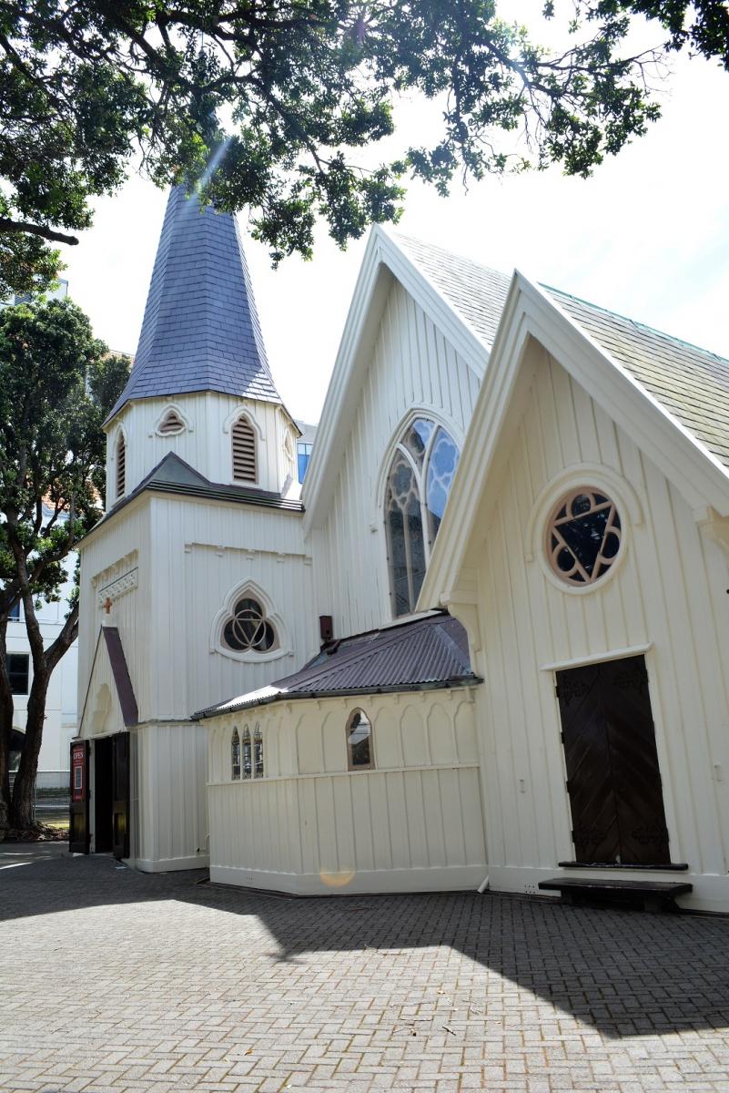 新西兰惠灵顿 Old St. Paul's 老圣保罗教堂_图1-1