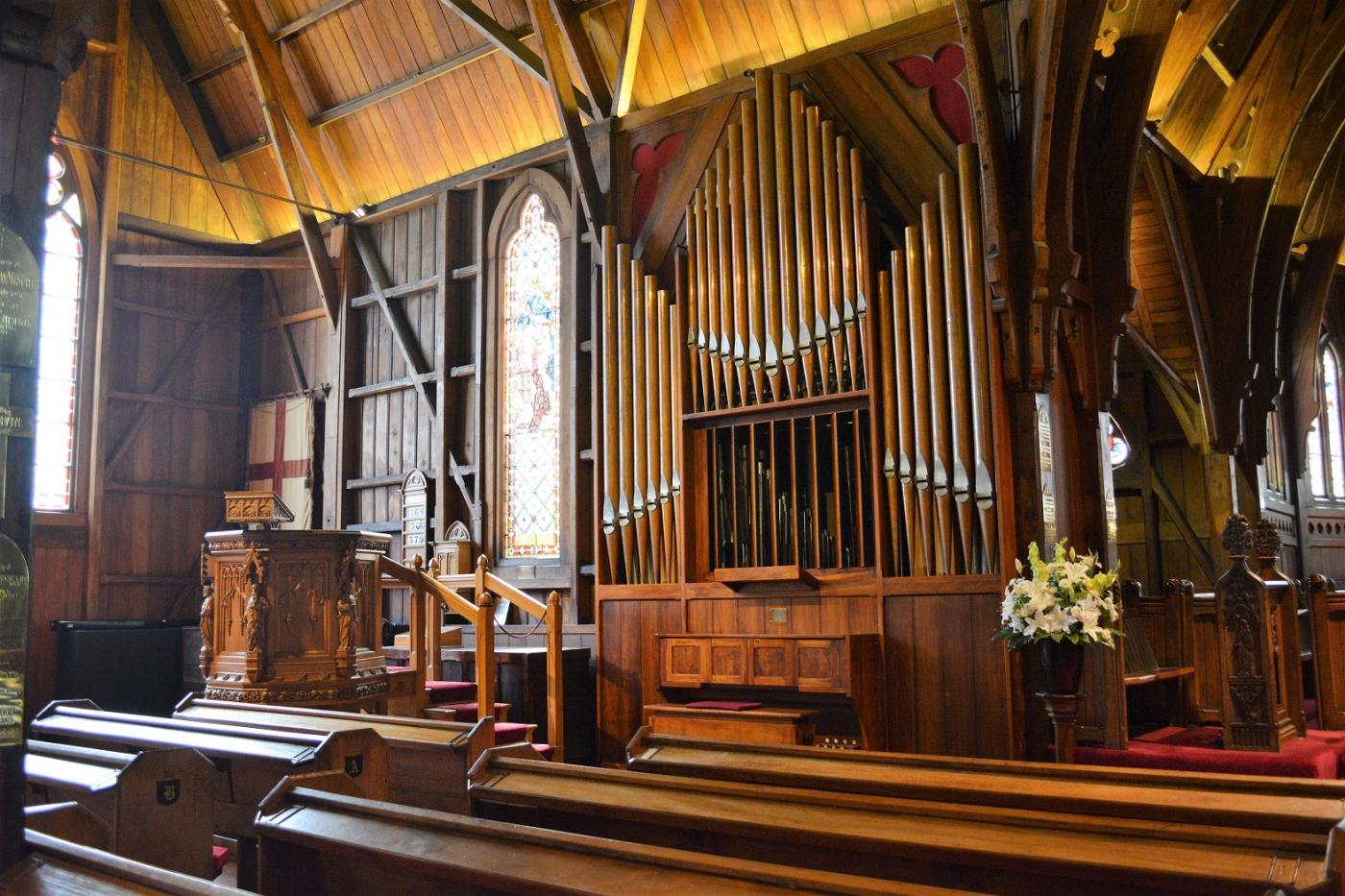 新西兰惠灵顿 Old St. Paul's 老圣保罗教堂_图1-9