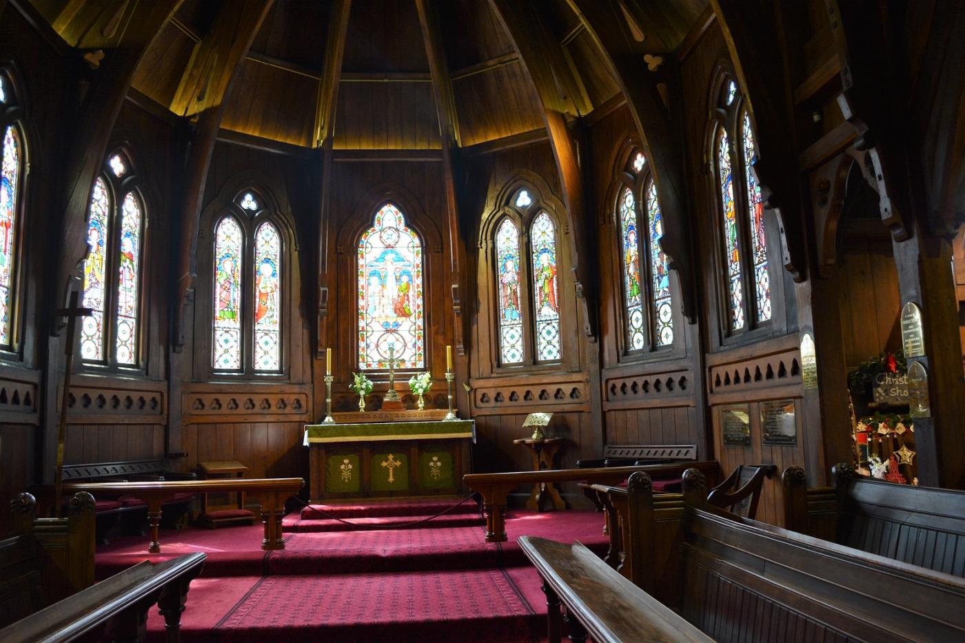 新西兰惠灵顿 Old St. Paul's 老圣保罗教堂_图1-3