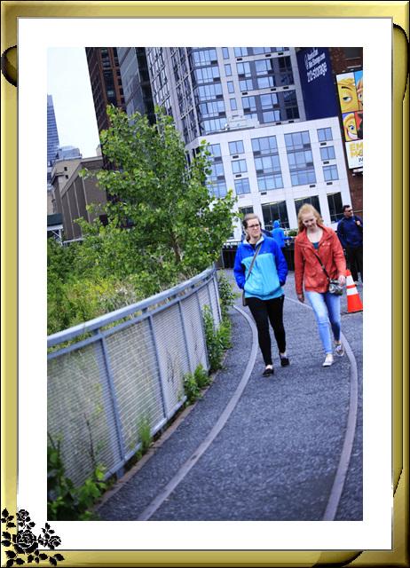 纽约高线公园人物抓拍(5月30日)_图1-3