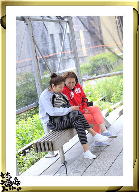 纽约高线公园人物抓拍(5月30日)_图1-6