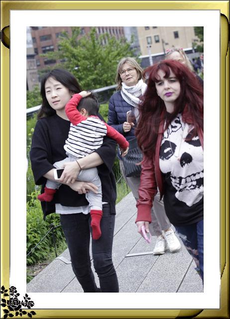 纽约高线公园人物抓拍(5月30日)_图1-16