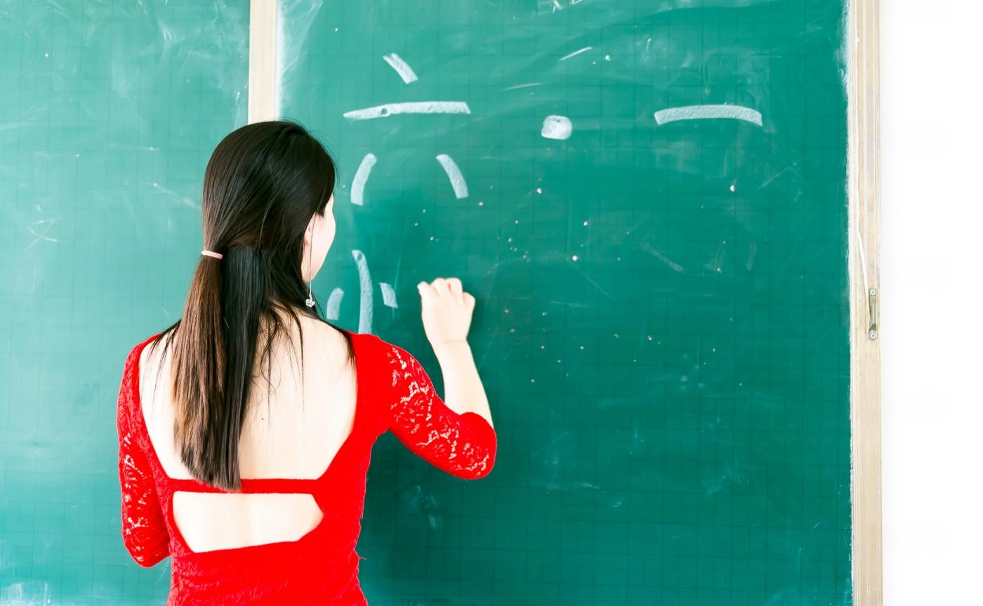 和偶遇的美丽乡村女教师一起过六一_图1-1