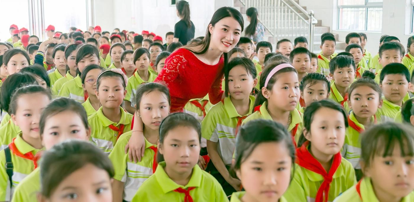 和偶遇的美丽乡村女教师一起过六一_图1-11