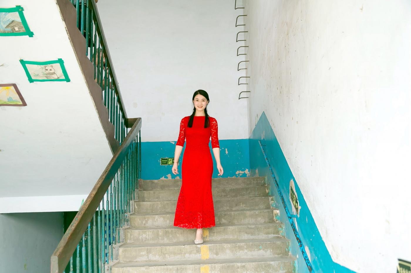 和偶遇的美丽乡村女教师一起过六一_图1-24