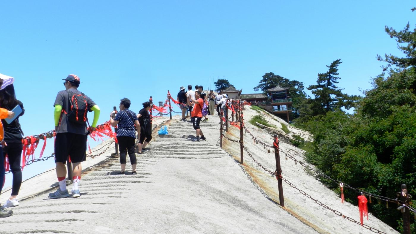 【汉良子】西岳华山之一(图)_图1-15