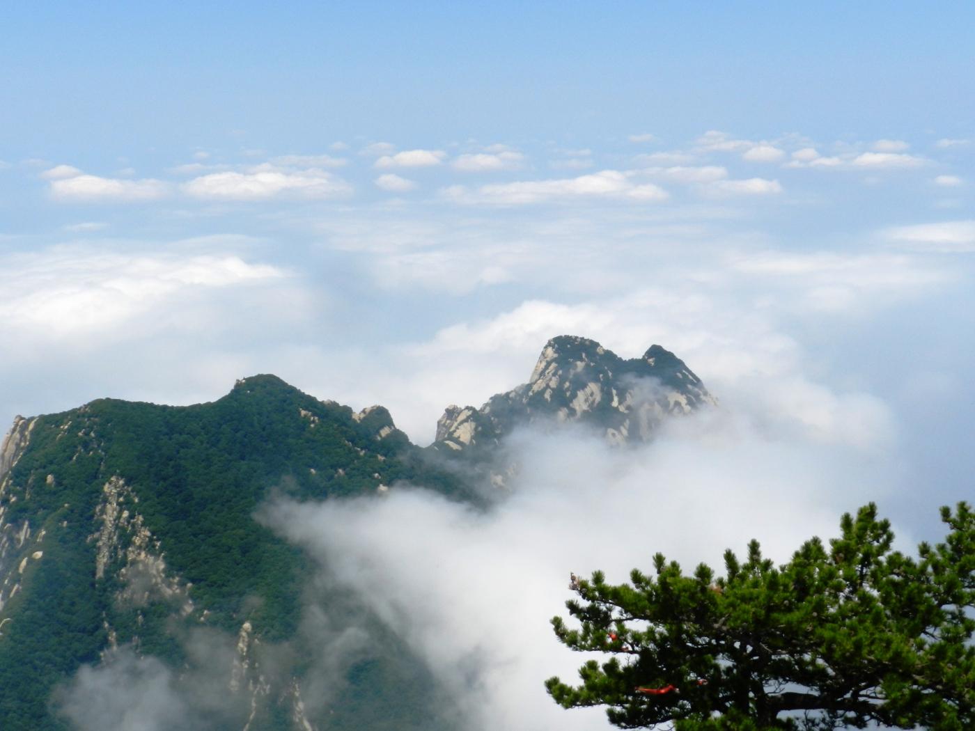 【汉良子】西岳华山之二(图)_图1-29