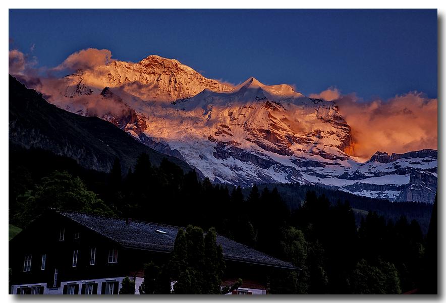 《酒一船摄影》:瑞士行-小镇文根少女峰_图1-1