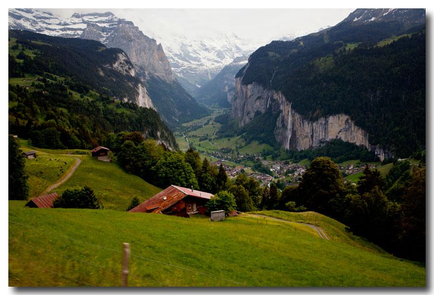 《酒一船摄影》:瑞士行-小镇文根少女峰_图1-2