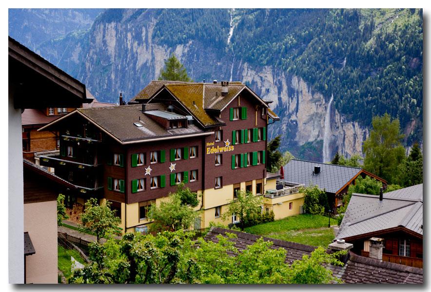 《酒一船摄影》:瑞士行-小镇文根少女峰_图1-4