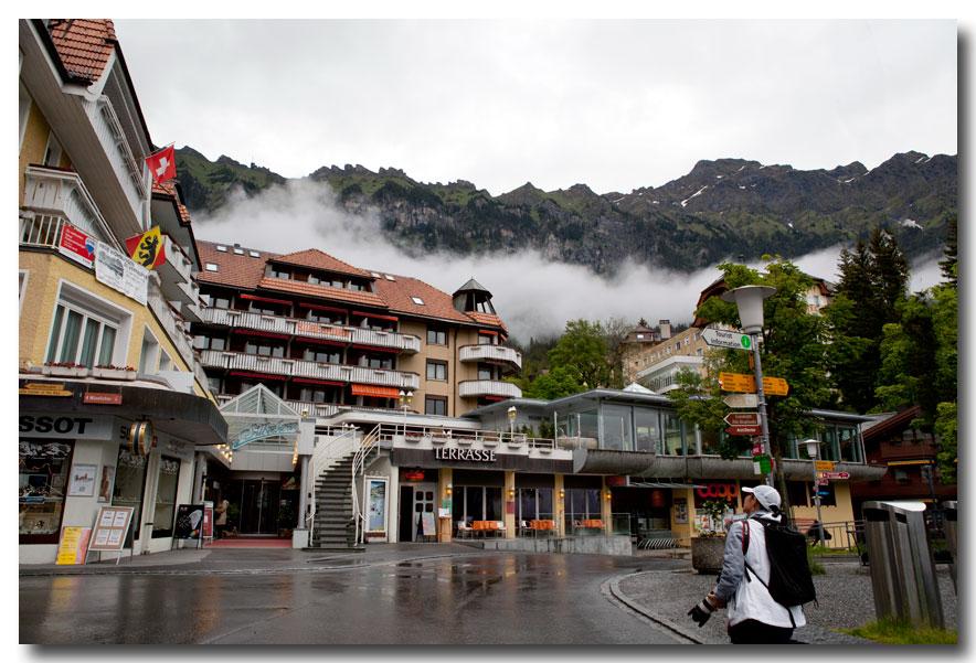 《酒一船摄影》:瑞士行-小镇文根少女峰_图1-7