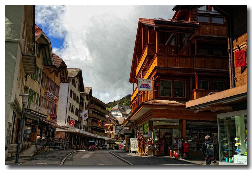 《酒一船摄影》:瑞士行-小镇文根少女峰_图1-8