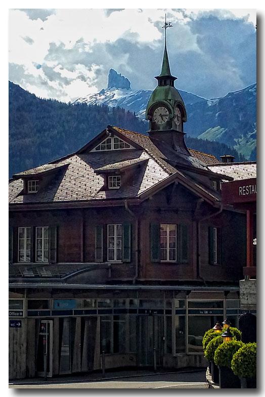 《酒一船摄影》:瑞士行-小镇文根少女峰_图1-11