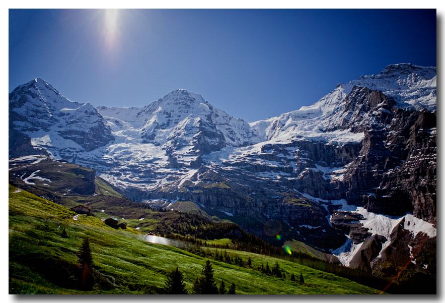 《酒一船摄影》:瑞士行-小镇文根少女峰_图1-26
