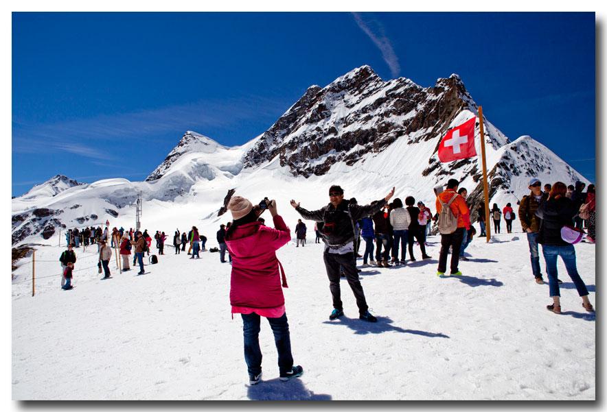 《酒一船摄影》:瑞士行-小镇文根少女峰_图1-29