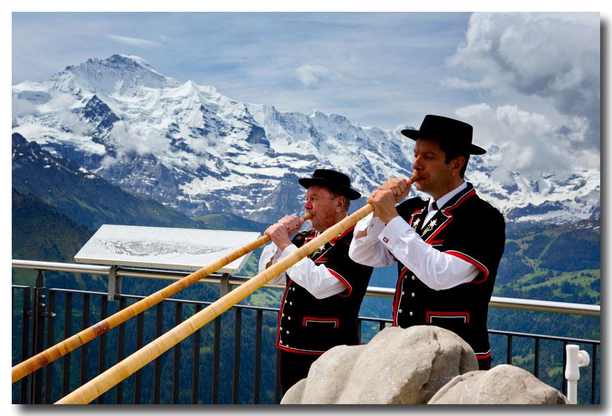 《酒一船摄影》:瑞士行-小镇文根少女峰_图1-39