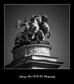 布达佩斯英雄广场的那些英雄们