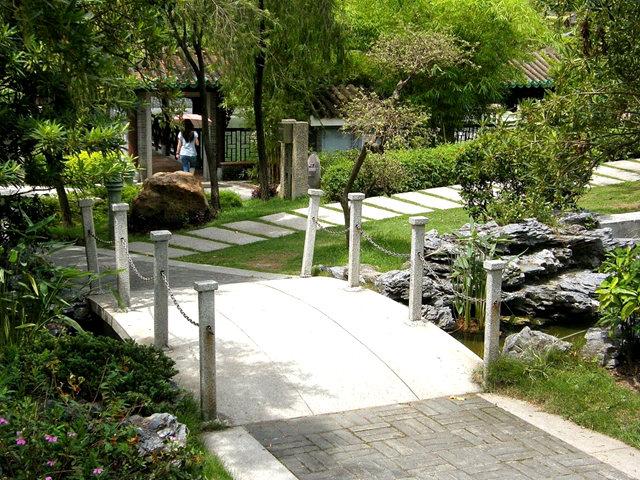 """香港公园之_""""岭南之风""""_图1-3"""