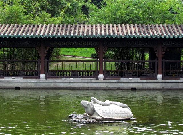 """香港公园之_""""岭南之风""""_图1-7"""