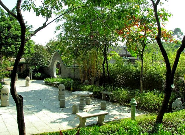 """香港公园之_""""岭南之风""""_图1-16"""