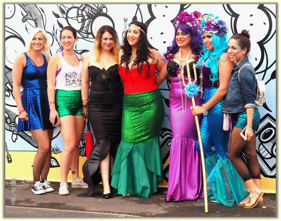 纽约科尼岛美人鱼游行随拍 (Coney Island Mermaid Parade)_图1-1