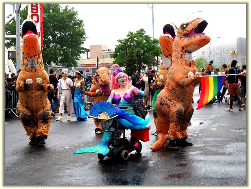 纽约科尼岛美人鱼游行随拍 (Coney Island Mermaid Parade)_图1-5