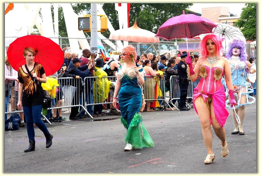纽约科尼岛美人鱼游行随拍 (Coney Island Mermaid Parade)_图1-6