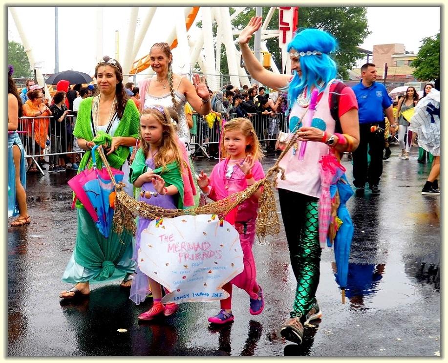 纽约科尼岛美人鱼游行随拍 (Coney Island Mermaid Parade)_图1-7
