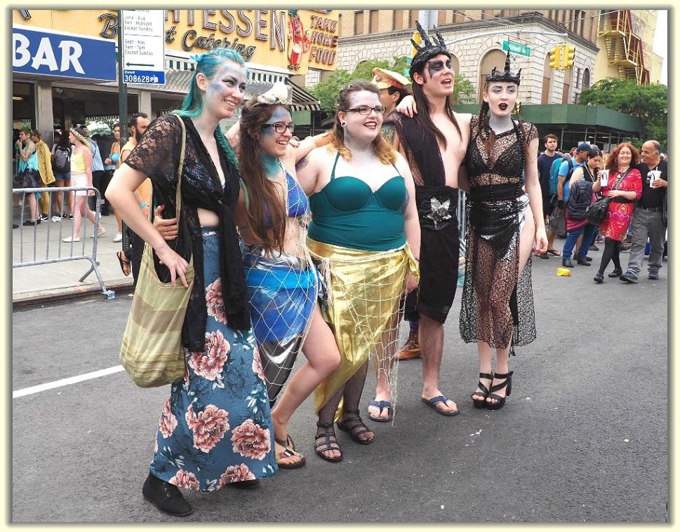 纽约科尼岛美人鱼游行随拍 (Coney Island Mermaid Parade)_图1-9