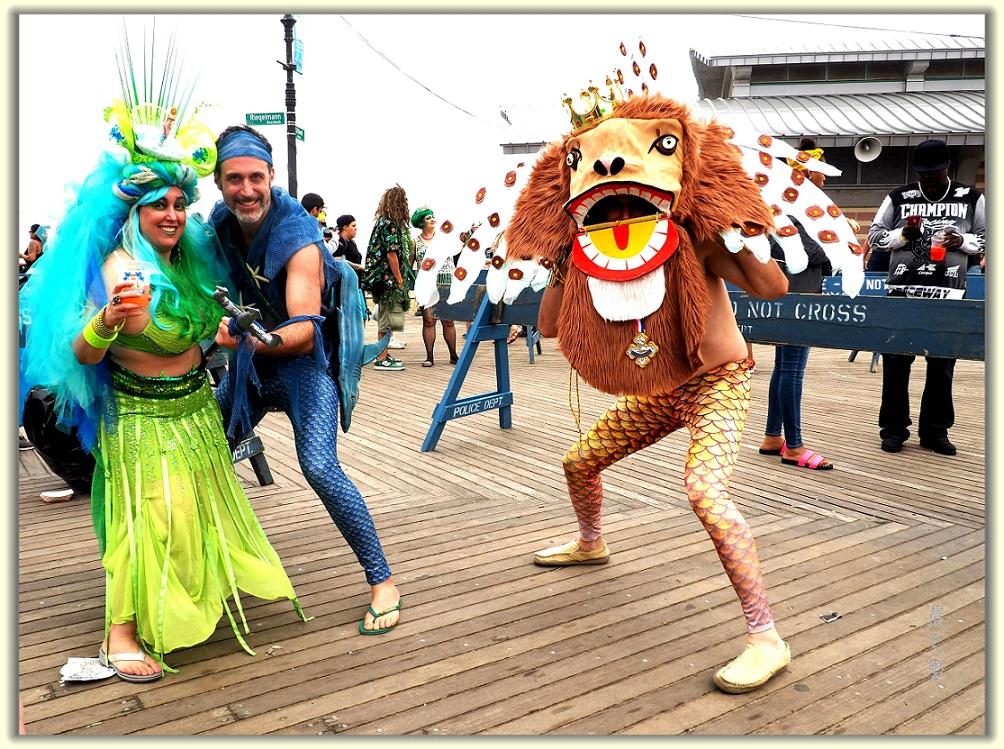 纽约科尼岛美人鱼游行随拍 (Coney Island Mermaid Parade)_图1-10