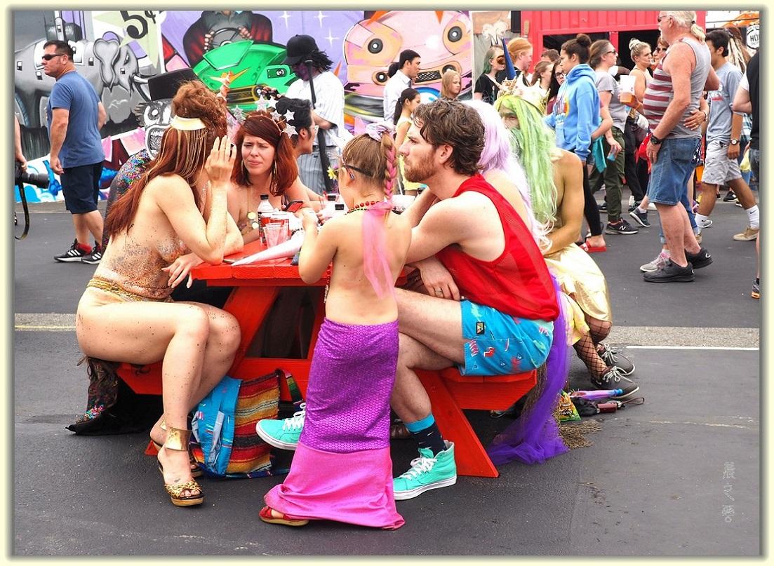 纽约科尼岛美人鱼游行随拍 (Coney Island Mermaid Parade)_图1-13