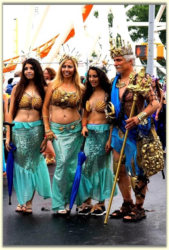 纽约科尼岛美人鱼游行随拍 (Coney Island Mermaid Parade)_图1-14
