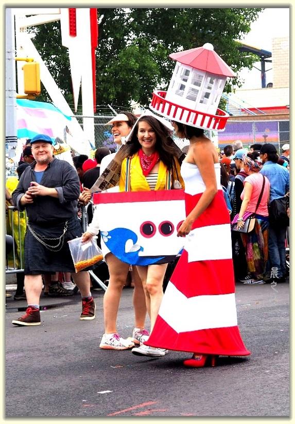 纽约科尼岛美人鱼游行随拍 (Coney Island Mermaid Parade)_图1-15