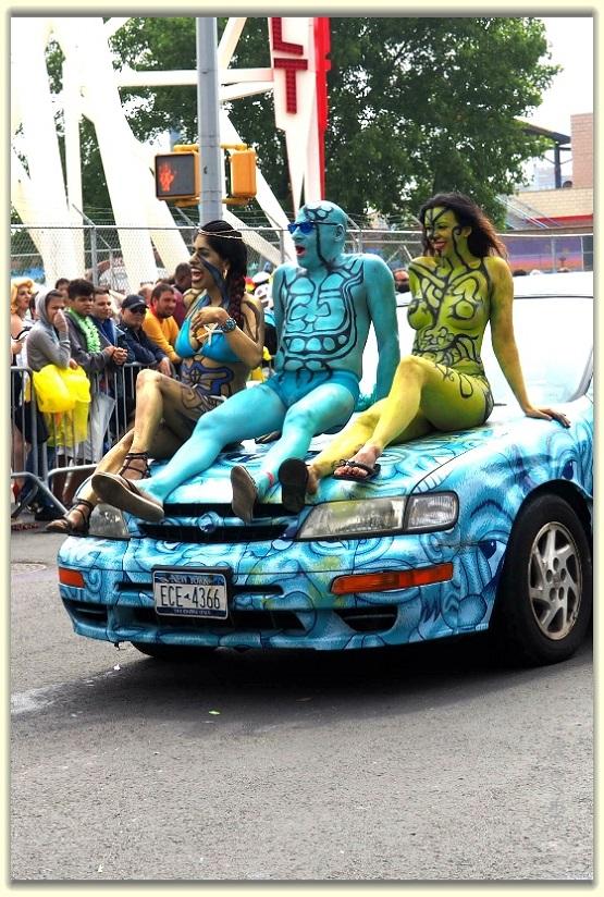 纽约科尼岛美人鱼游行随拍 (Coney Island Mermaid Parade)_图1-17