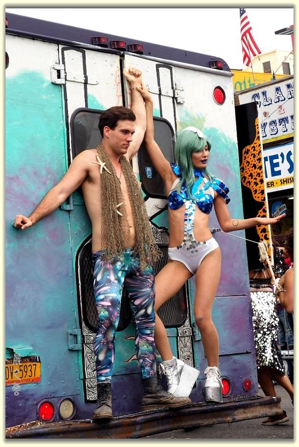 纽约科尼岛美人鱼游行随拍 (Coney Island Mermaid Parade)_图1-18