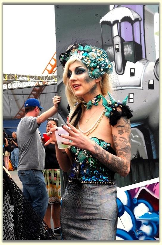 纽约科尼岛美人鱼游行随拍 (Coney Island Mermaid Parade)_图1-24