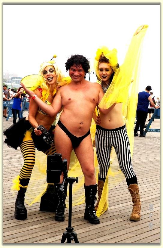 纽约科尼岛美人鱼游行随拍 (Coney Island Mermaid Parade)_图1-29
