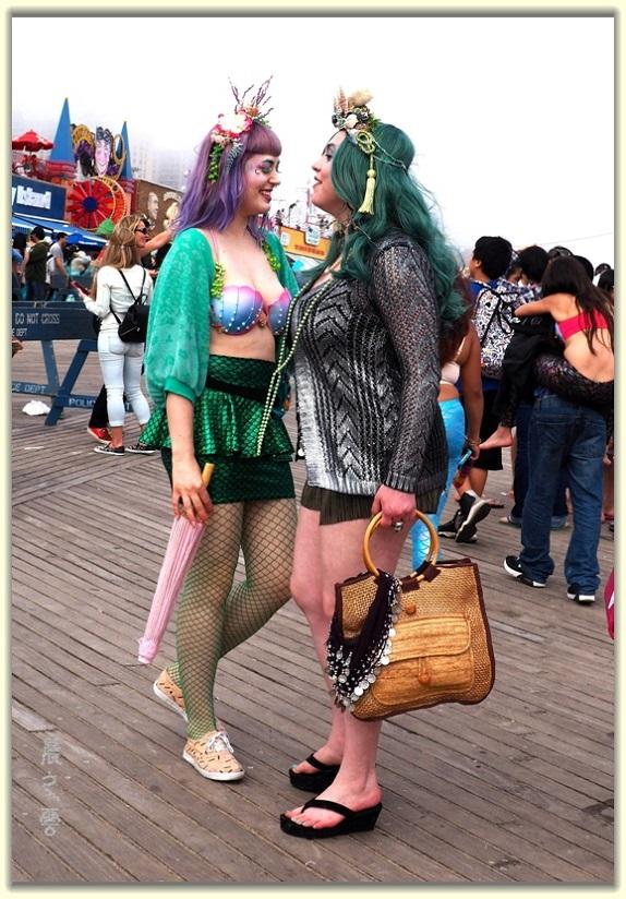 纽约科尼岛美人鱼游行随拍 (Coney Island Mermaid Parade)_图1-30