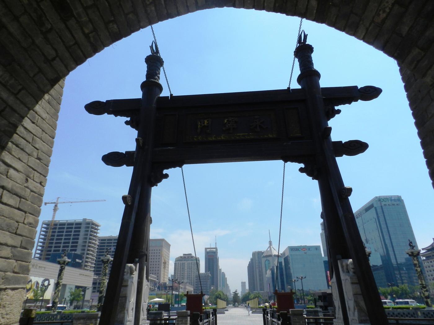 【汉良子】西安城墙(图)_图1-2