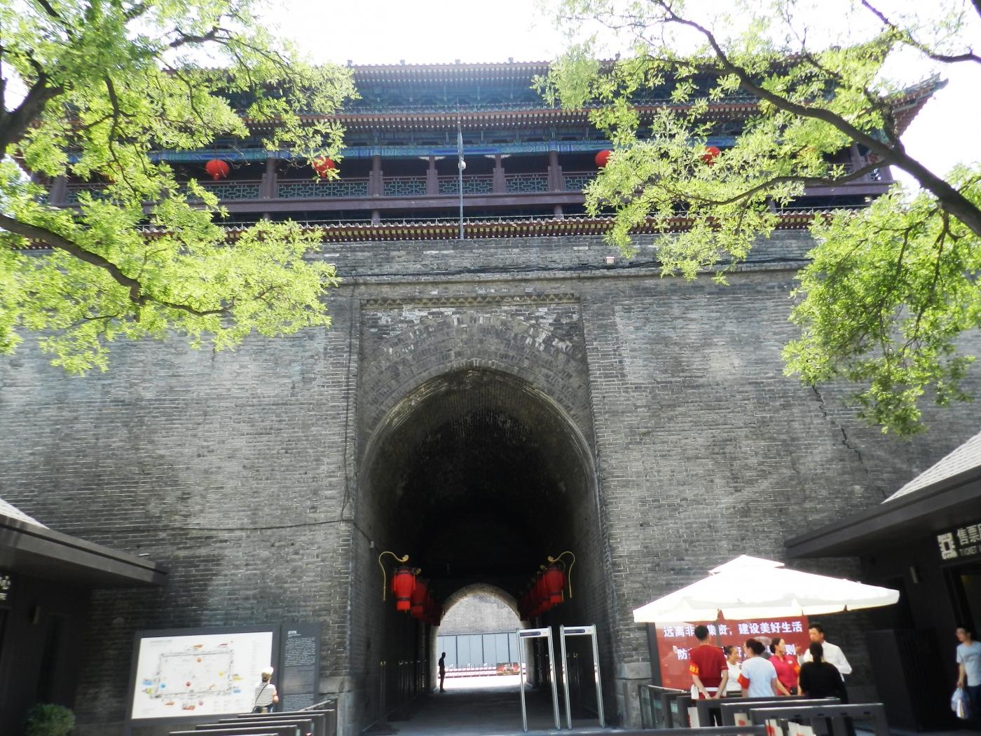 【汉良子】西安城墙(图)_图1-4