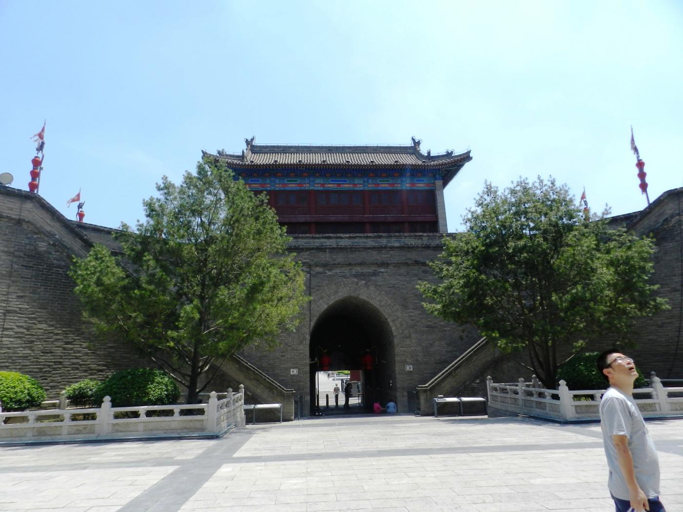 【汉良子】西安城墙(图)_图1-21