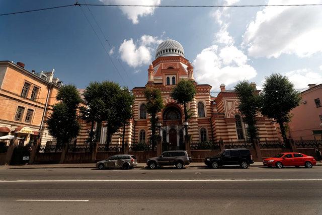 圣彼得堡大合唱犹太教堂_图1-2